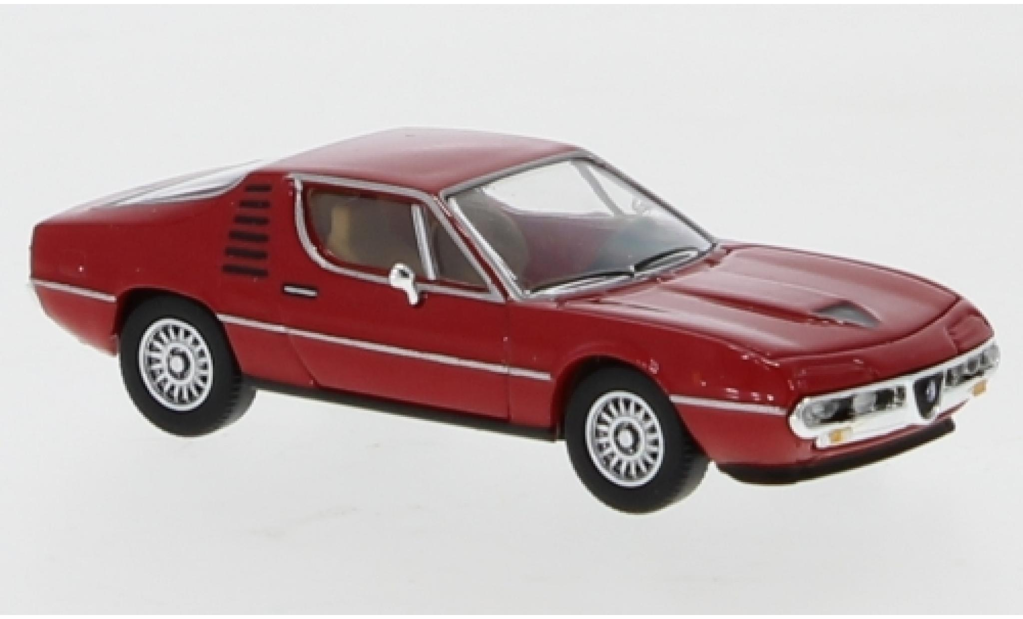 Alfa Romeo Montreal 1/87 PCX87 rouge 1970