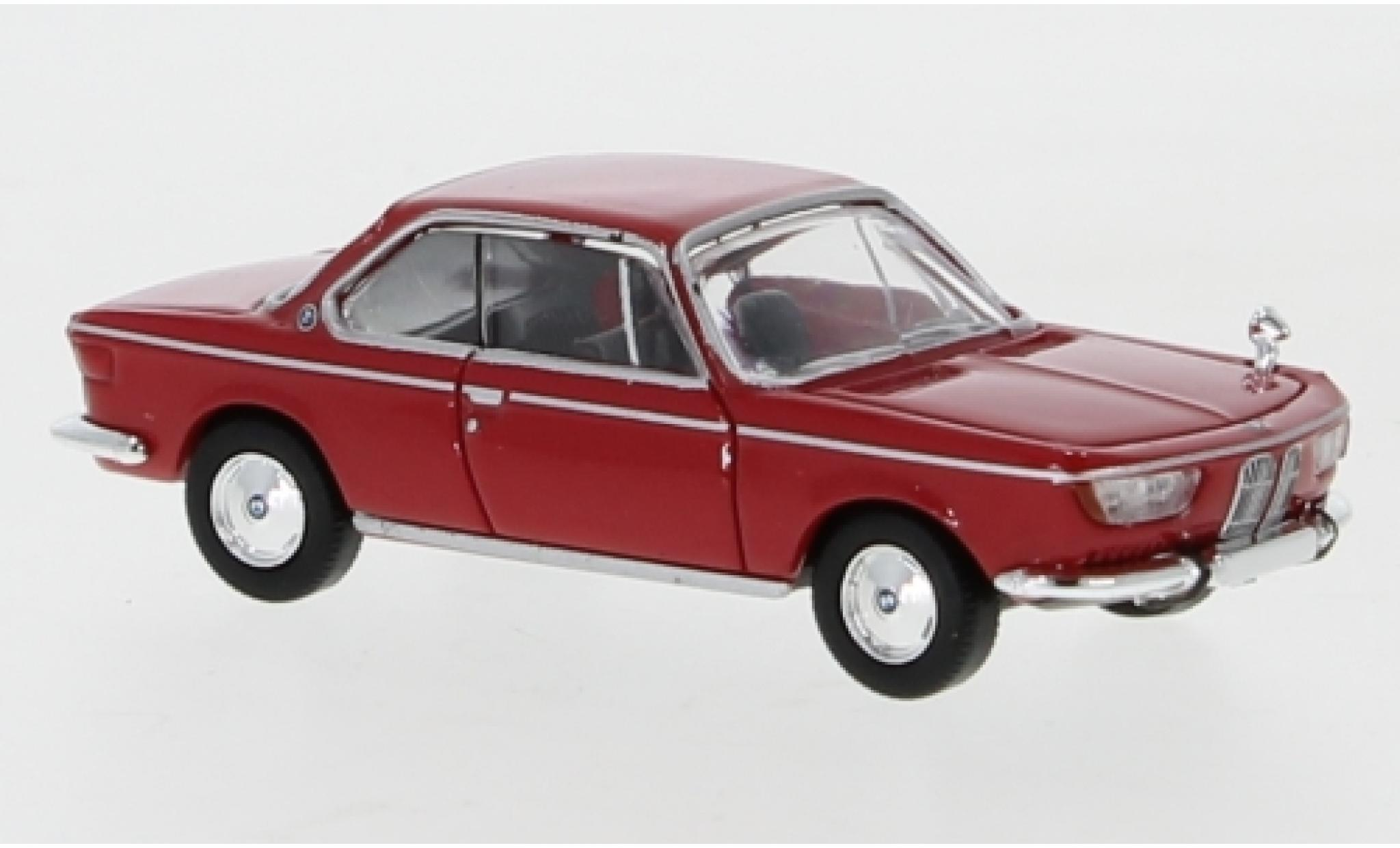 Bmw 2000 1/87 PCX87 CS rouge 1965