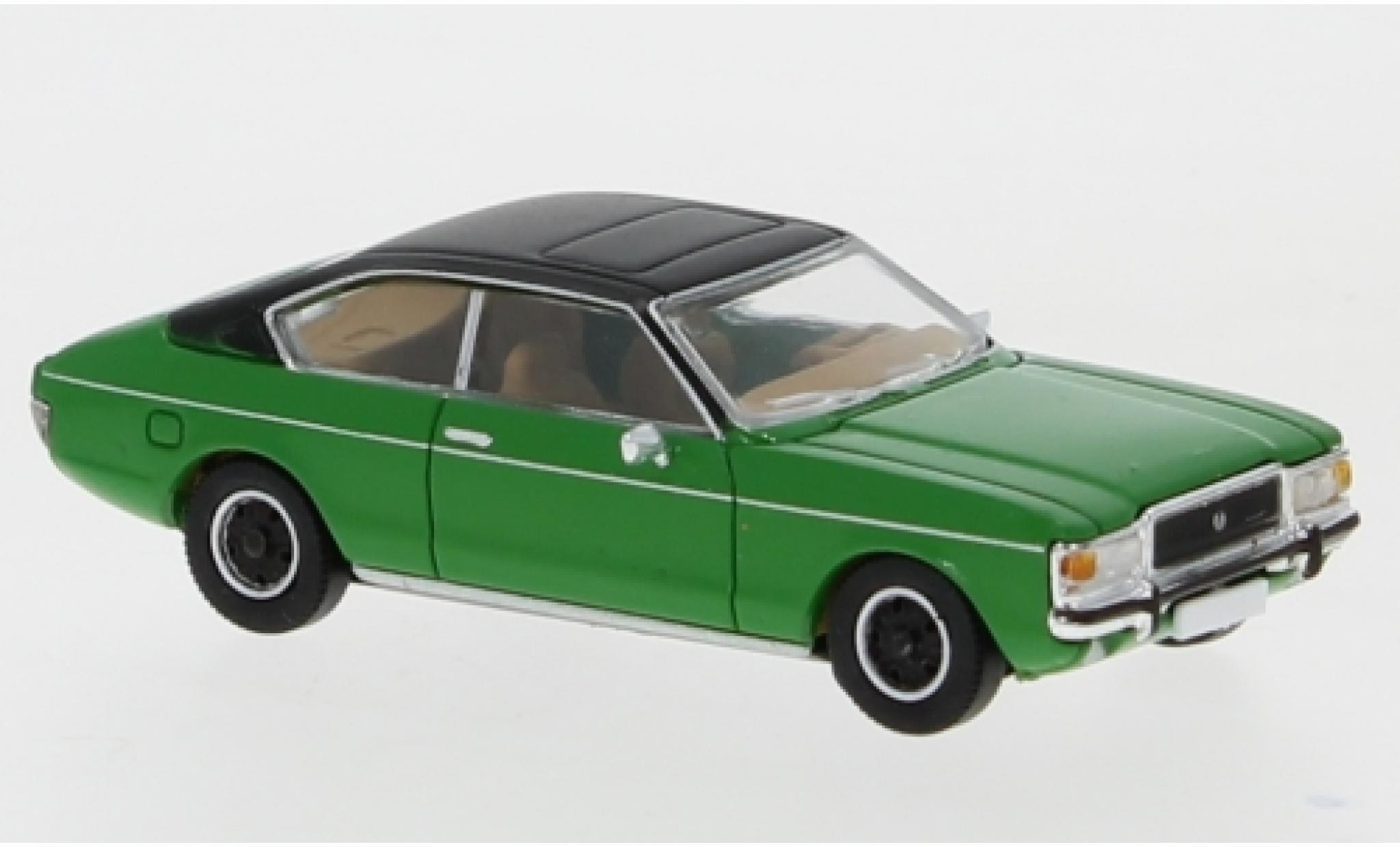 Ford Granada 1/87 PCX87 MK I Coupe verte/matt-noire 1974