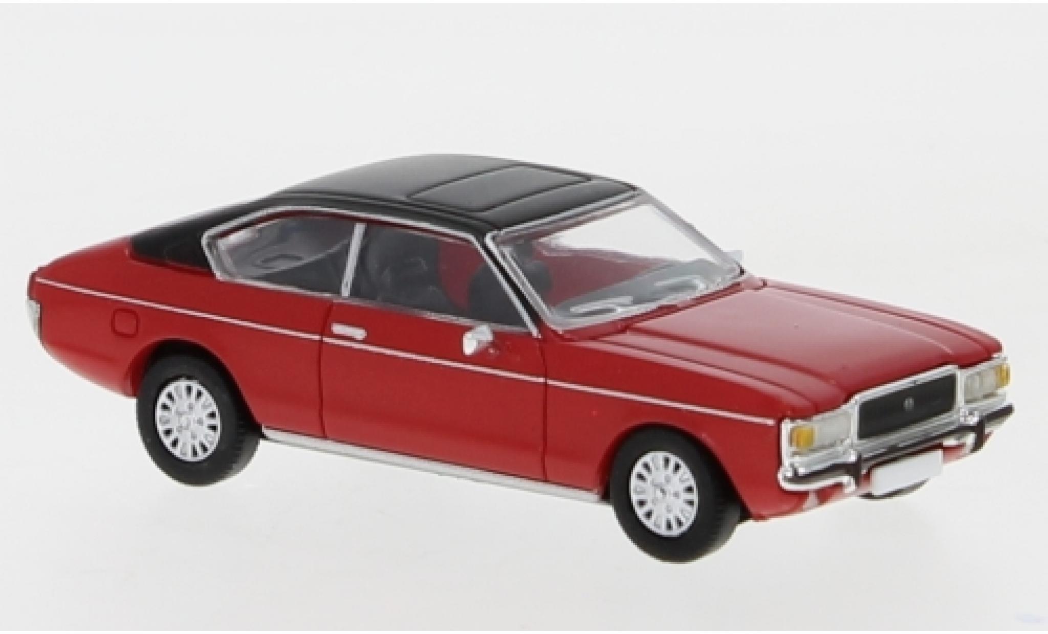 Ford Granada 1/87 PCX87 MK I Coupe rouge/matt-noire 1974