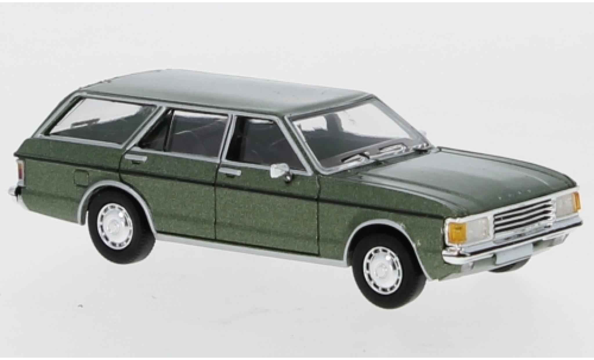 Ford Granada 1/87 PCX87 MK I Turnier metallise verte 1974