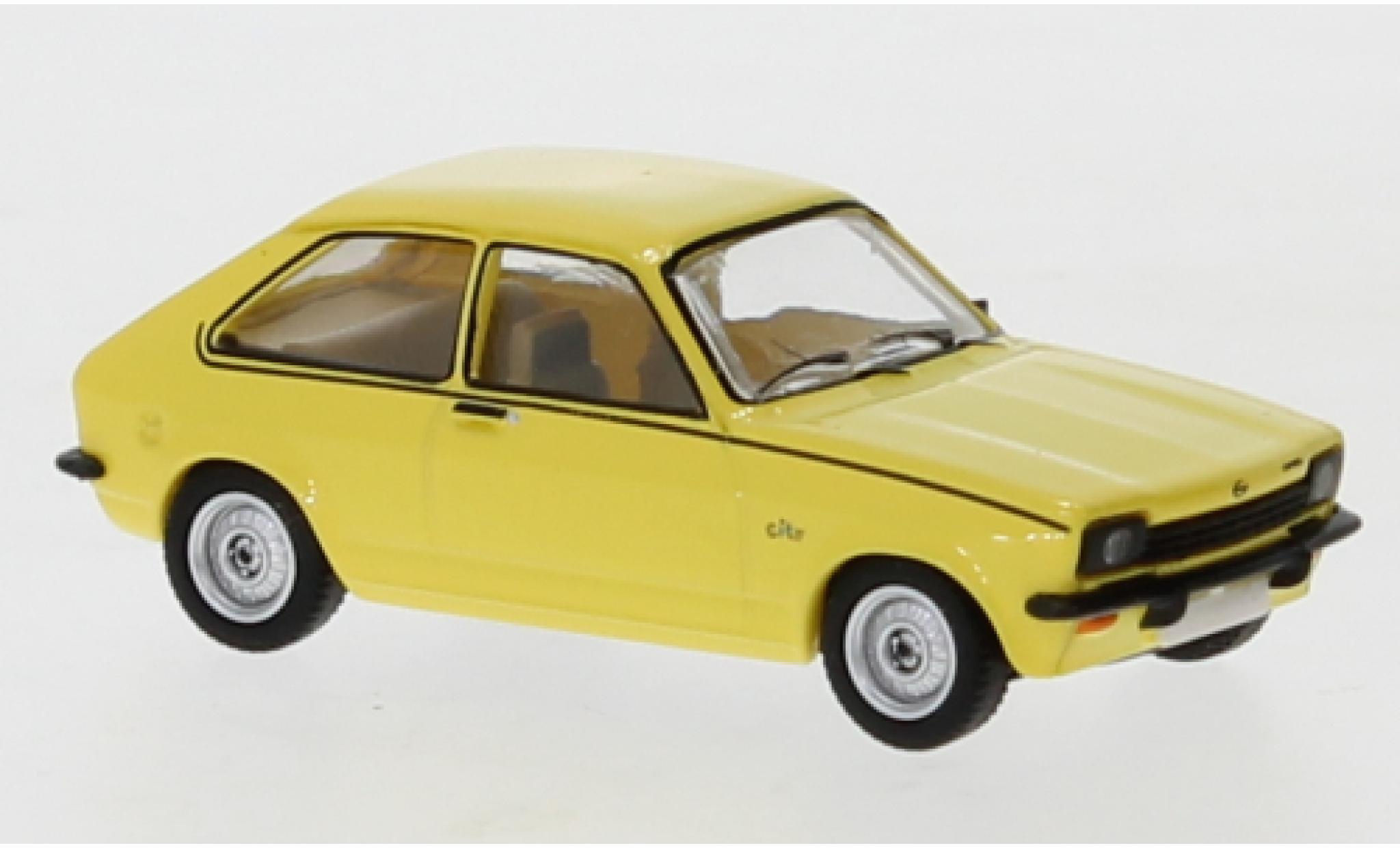 Opel Kadett 1/87 PCX87 C City J jaune 1975