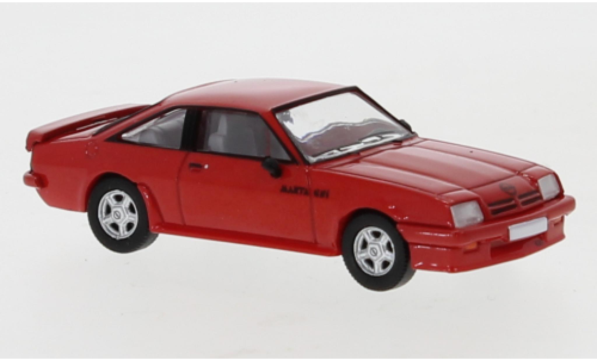 Opel Manta 1/87 PCX87 B GSI rouge 1984