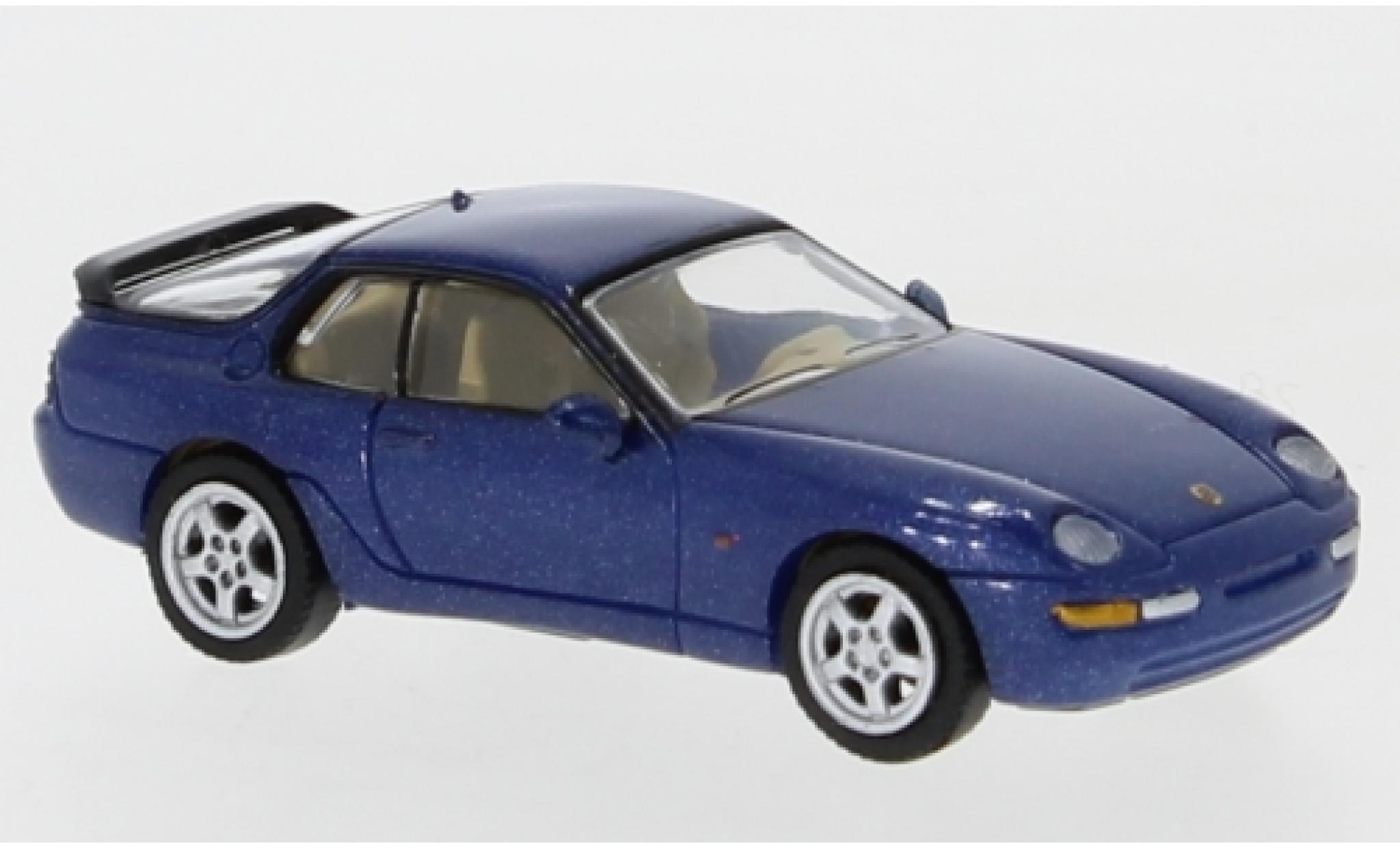 Porsche 968 1/87 PCX87 metallise bleue 1991