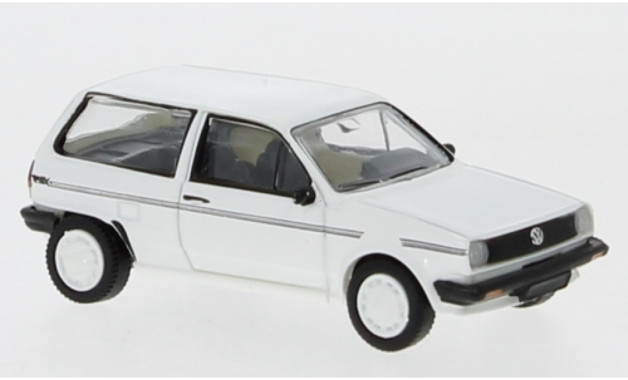 Volkswagen Polo 1/87 PCX87 II Fox blanche/Dekor 1985