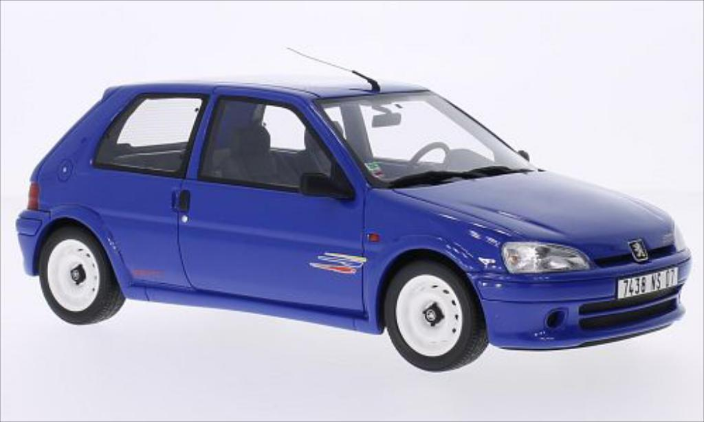 peugeot 106 rallye miniature phase 2 bleu ottomobile 1 18 voiture. Black Bedroom Furniture Sets. Home Design Ideas