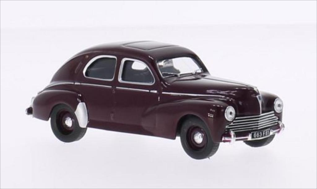 Miniature Peugeot 203 Berline rouge 1950 Solido. Peugeot 203 Berline rouge 1950 miniature 1/43