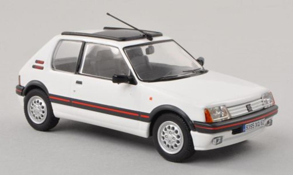 Peugeot 205 GTI 1/43 Vanguards 1.6 white LHD diecast model cars