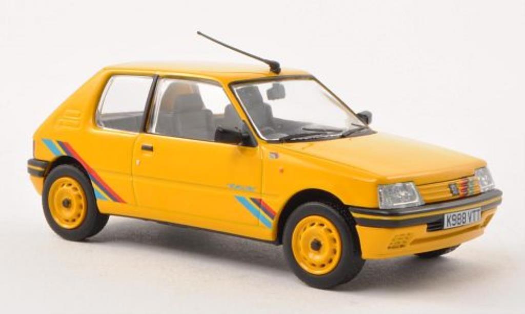 Peugeot 205 Rallye 1/43 Vanguards jaune RHD miniature