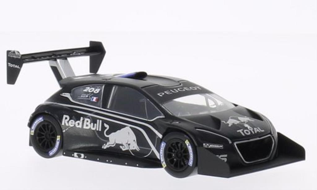 Peugeot 208 T16 1/43 Norev No. Red Bull Prasentation Pikes Peak 2013 miniature