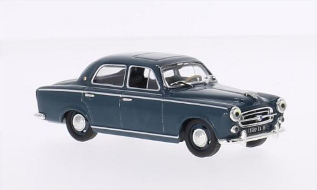Miniature Peugeot 403 Berline bleu 1957 Vitesse. Peugeot 403 Berline bleu 1957 miniature 1/43