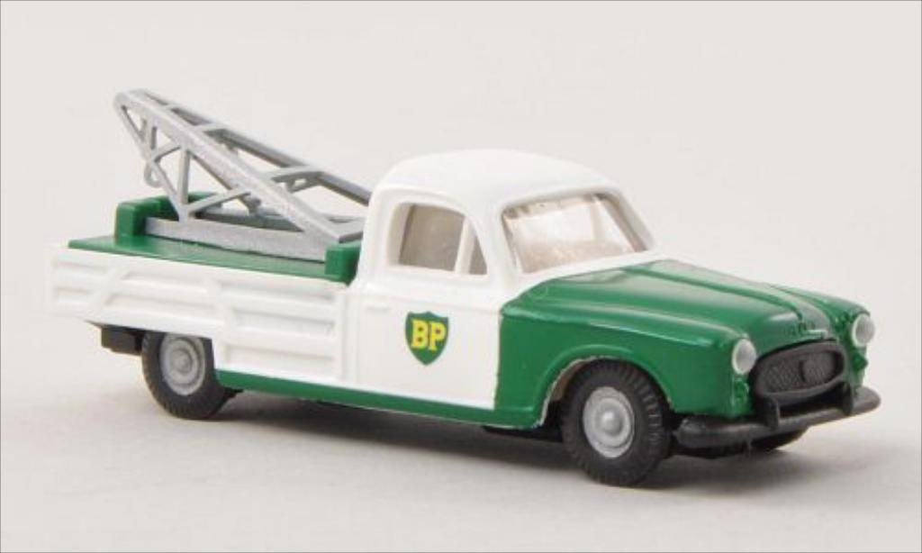 Peugeot 403 Pick up 1/87 Busch BP Abschleppwagen 1955 miniature
