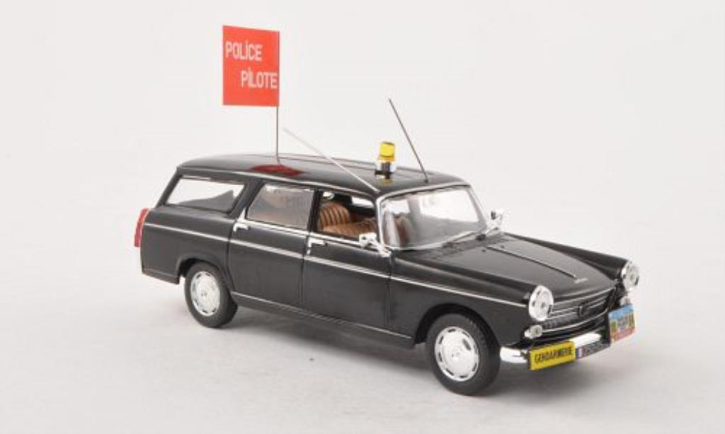 Peugeot 404 Break 1/43 Norev Gendarmerie - Police Pilote Polizei (F) 1967 miniature