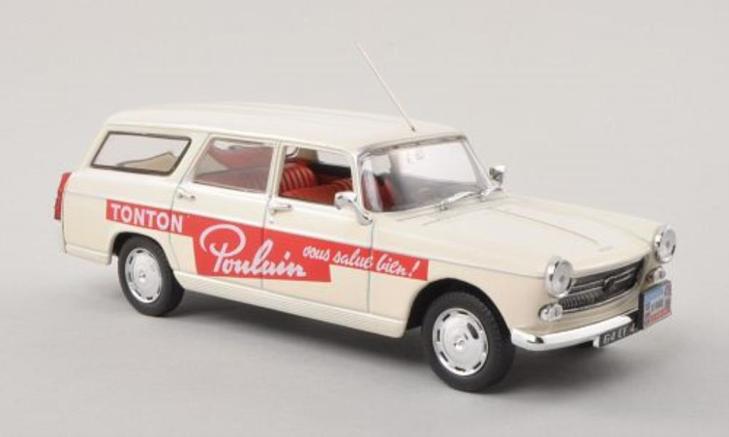 Peugeot 404 Break 1/43 Norev Poulain 1963 miniature