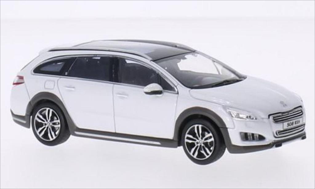 Peugeot 508 RXH 1/43 Norev metallise blanche 2012 miniature