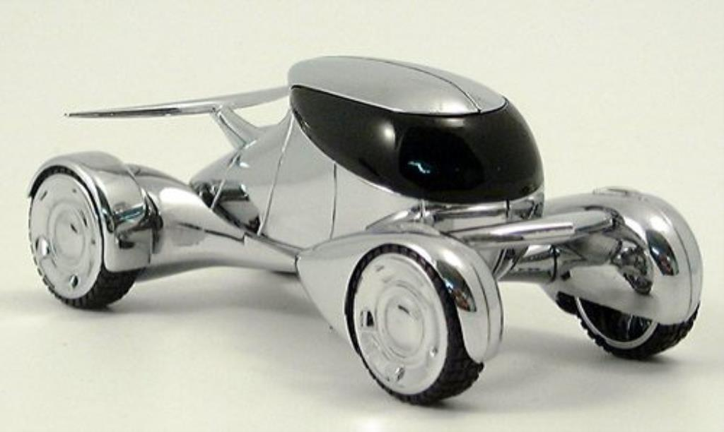 Peugeot Moonster 1/43 Norev chrom 2003 miniature