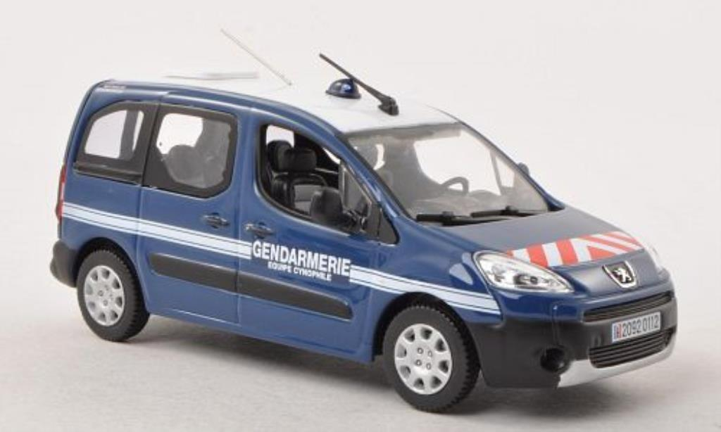 peugeot partner gendarmerie equipe cynophile polizei f 2008 norev diecast model car 1 43. Black Bedroom Furniture Sets. Home Design Ideas