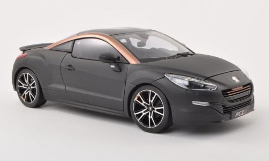 Peugeot RCZ 1/18 Norev R Concept matt-noire/kupfer/noire Autosalon Paris 2012 miniature
