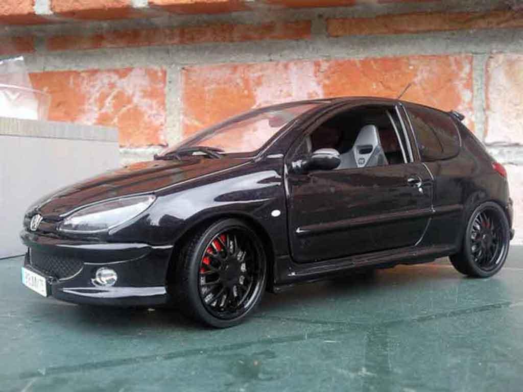 peugeot 206 rc wheels blacks et vitres teintees norev diecast model car 1 18 buy sell diecast. Black Bedroom Furniture Sets. Home Design Ideas
