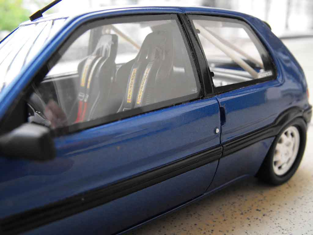 peugeot 106 xsi phase 1 blue wheels 205 gti 1993 ottomobile diecast model car 1 18 buy sell. Black Bedroom Furniture Sets. Home Design Ideas