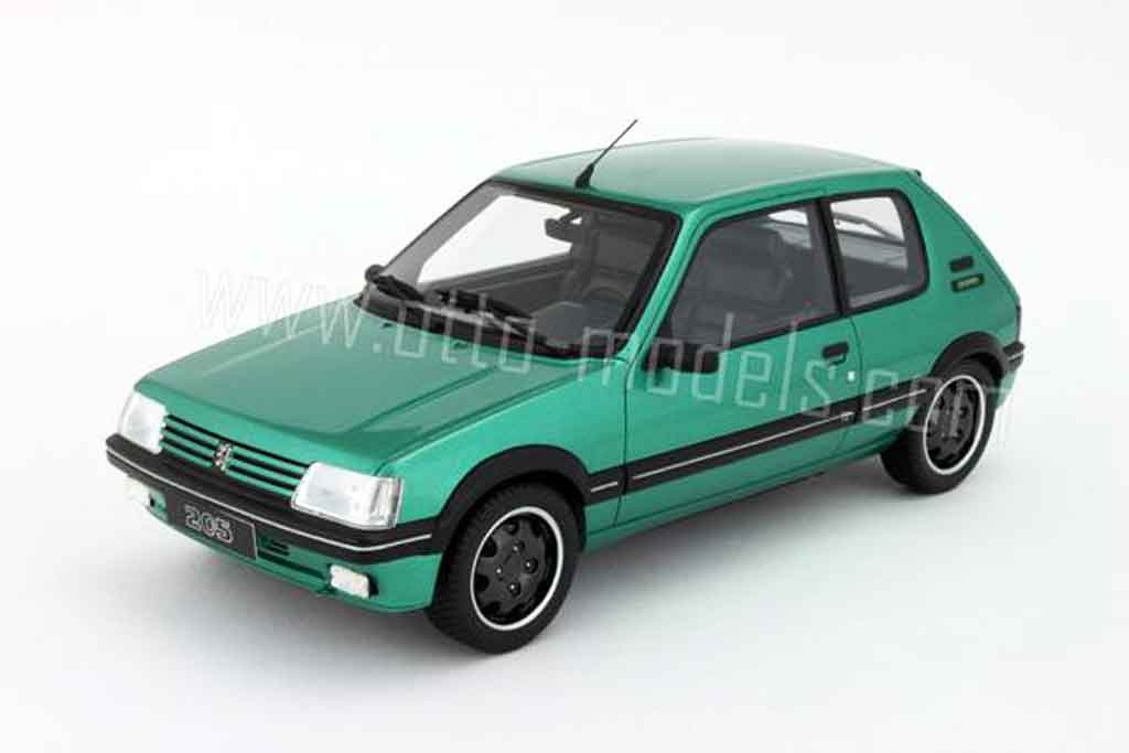 Peugeot 205 GTI 1/18 Ottomobile Griffe 1991 diecast model cars