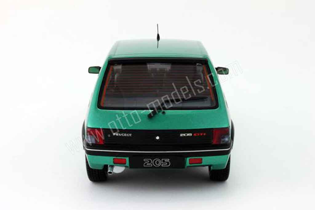 Peugeot 205 Gti Griffe Miniature 1991 Ottomobile 1 18