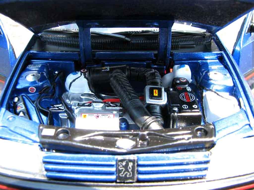 Peugeot 205 GTI 1/18 Solido 1.9 Bleu Miami bleu miami