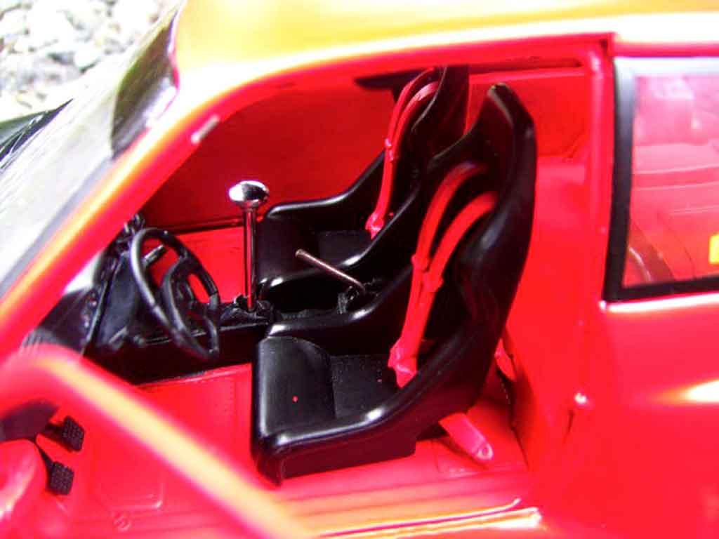 Peugeot 205 GTI 1/18 Solido 1.9 Rouge Vallelunga kit carrosserie gtr
