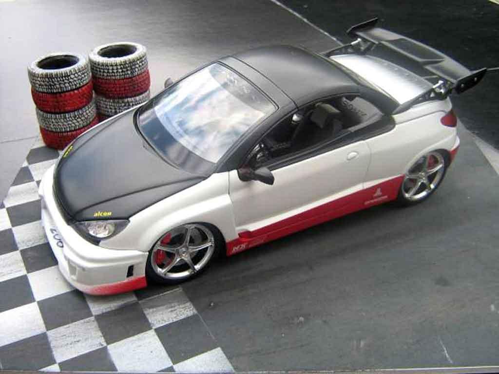 Peugeot 206 CC 1/18 Norev parotech racing