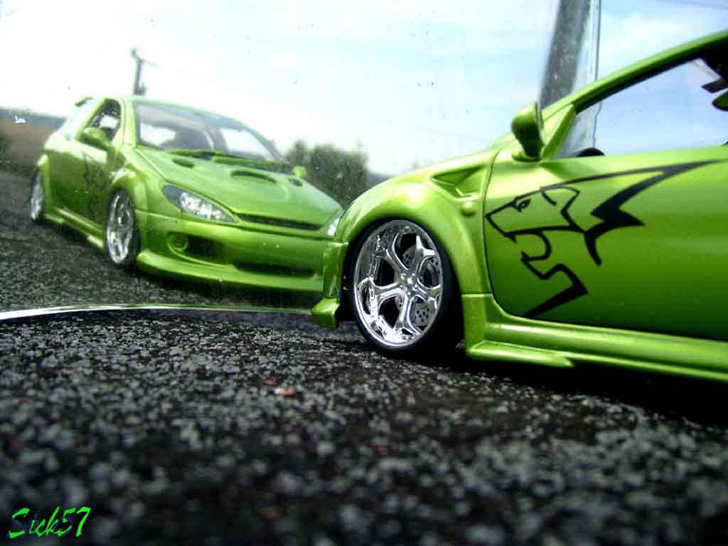 Voiture de collection Peugeot 206 RC esquiss auto kiwi tuning Norev. Peugeot 206 RC esquiss auto kiwi miniature 1/18