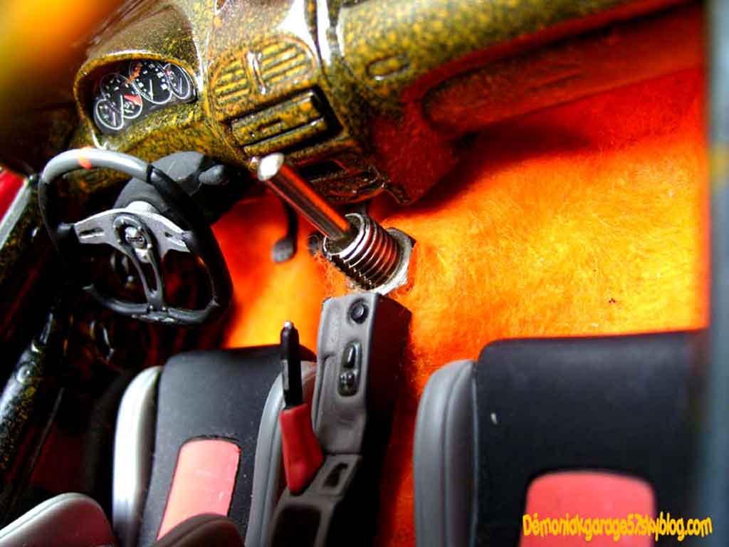 Modèle réduit Peugeot 206 WRC street racer tuning Norev. Peugeot 206 WRC street racer miniature 1/18