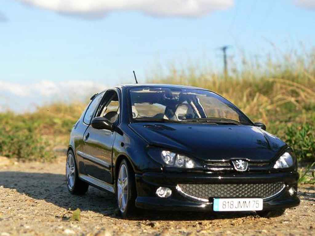 peugeot 206 rc black evolution esquiss auto tuning norev diecast model car 1 18 buy sell. Black Bedroom Furniture Sets. Home Design Ideas