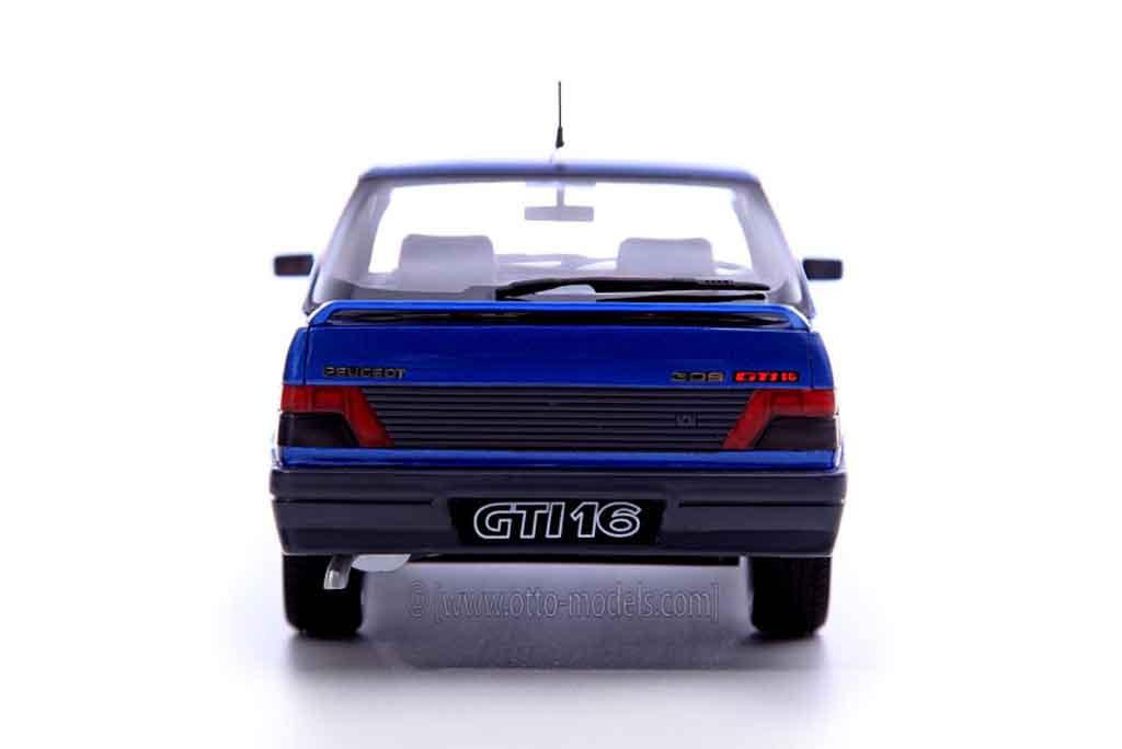 Peugeot 309 GTI 16 1/18 Ottomobile 16s bleu miami prototype