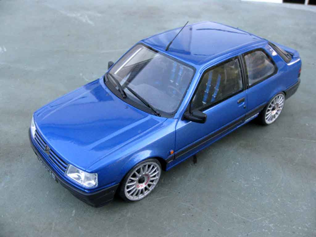 Peugeot 309 GTI 16 1/18 Ottomobile S groupe n tuning diecast model cars