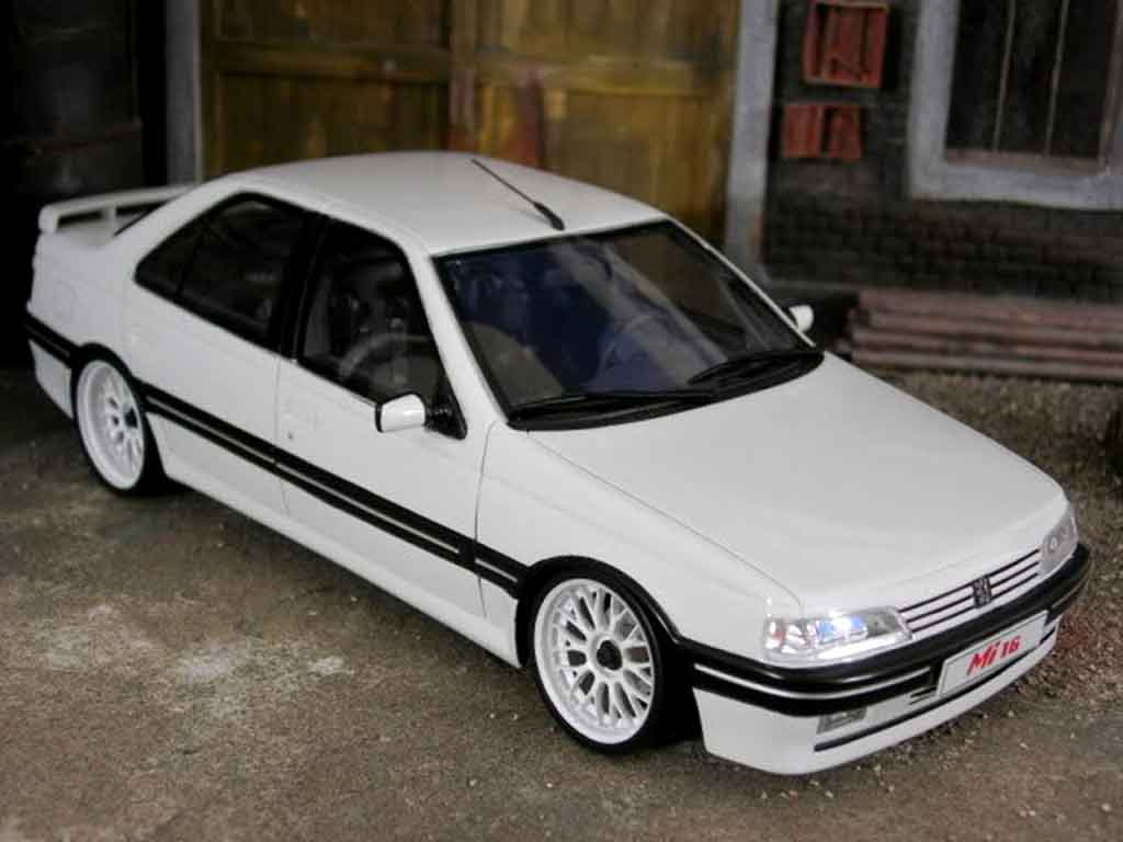 Peugeot 405 Mi16 1/18 Ottomobile tsw style dtm tuning diecast model cars