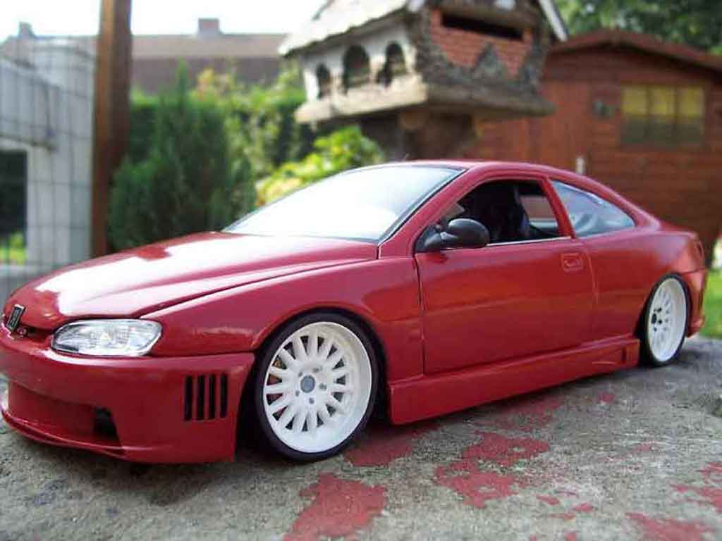 Peugeot 406 1/18 Gate pack sport rouge tuning miniature