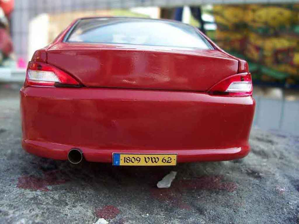 Peugeot 406 1/18 Gate pack sport red
