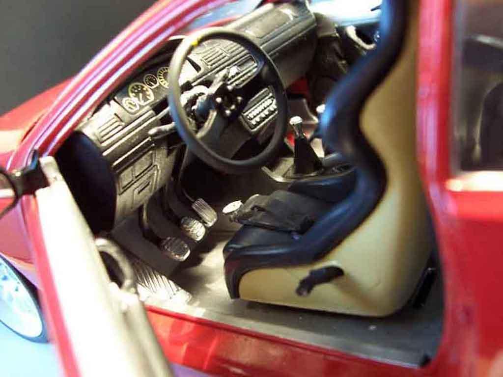 Peugeot 406 1/18 Gate pack sport rouge