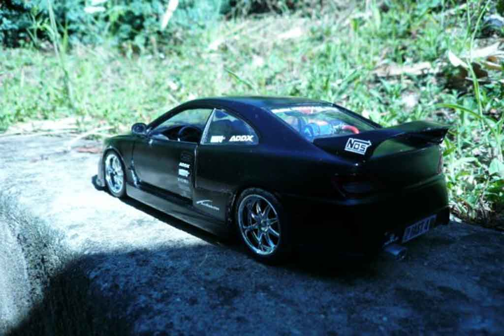 Peugeot 406 1/18 Gate black jantes 17 pouces sono subwoofer