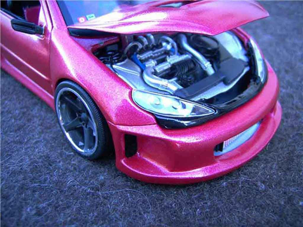 Peugeot 206 WRC 1/18 Solido kit large tuning