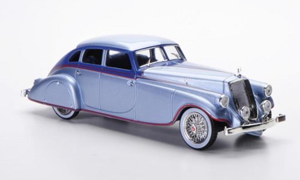 Pierce Arrow Silver 1/43 IXO Arrow grau-bleu/bleu/rot 1933 modellautos