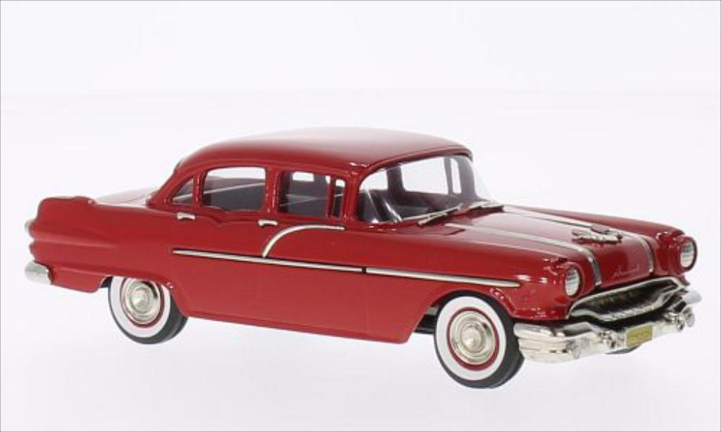 Pontiac Chieftain 1/43 Brooklin 870 Sedan rouge 1956 miniature