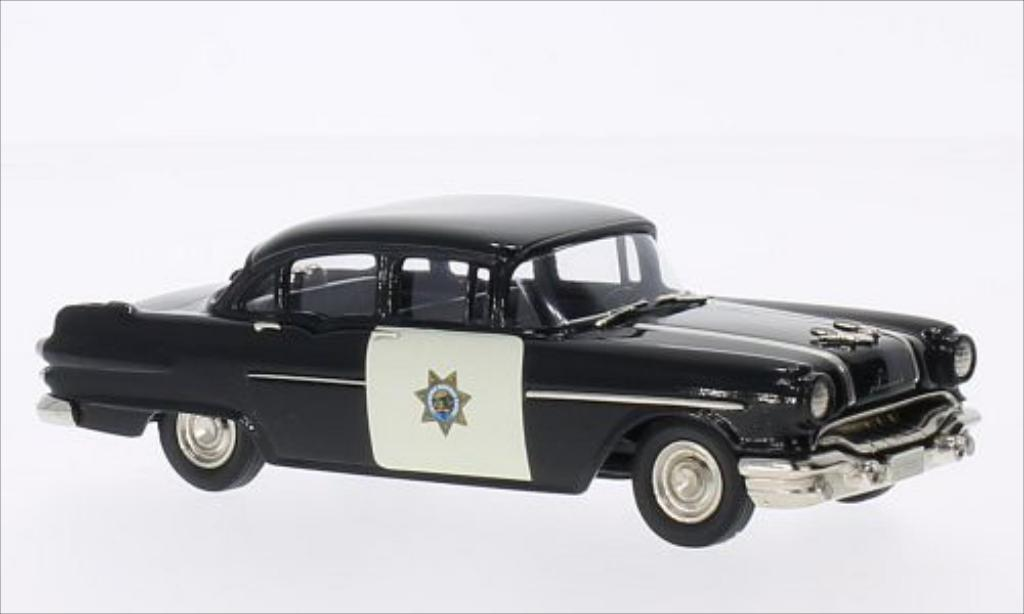 Pontiac Chieftain 1/43 Brooklin C.H.P. noire 1956 miniature
