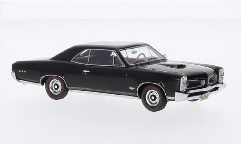 pontiac gto hardtop schwarz 1966 neo modellauto 1 43. Black Bedroom Furniture Sets. Home Design Ideas