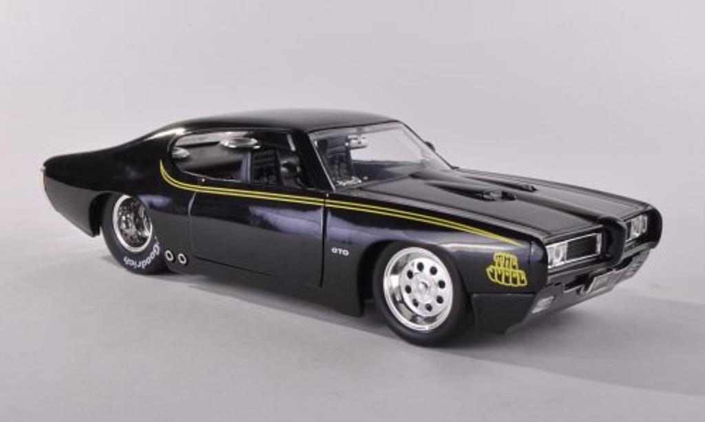 Pontiac GTO 1/24 Jada Toys Toys Judge noire 1969 miniature