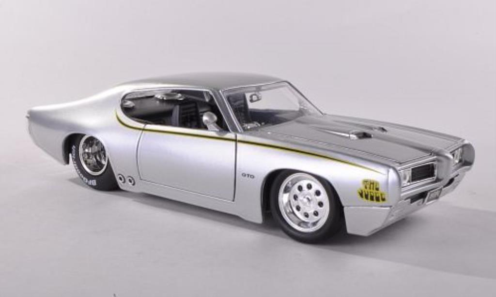 pontiac gto judge silber 1969 jada toys modellauto 1 24. Black Bedroom Furniture Sets. Home Design Ideas
