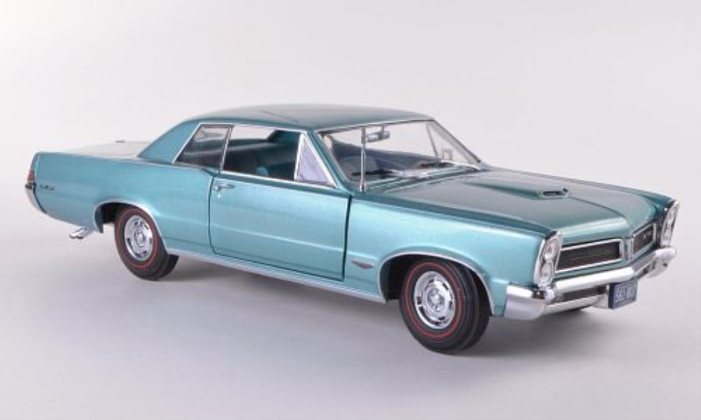 pontiac gto turkis 1965 mcw modellauto 1 18 kaufen. Black Bedroom Furniture Sets. Home Design Ideas