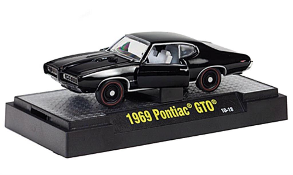 pontiac gto ram air iii schwarz 1969 mcw modellauto 1 64. Black Bedroom Furniture Sets. Home Design Ideas