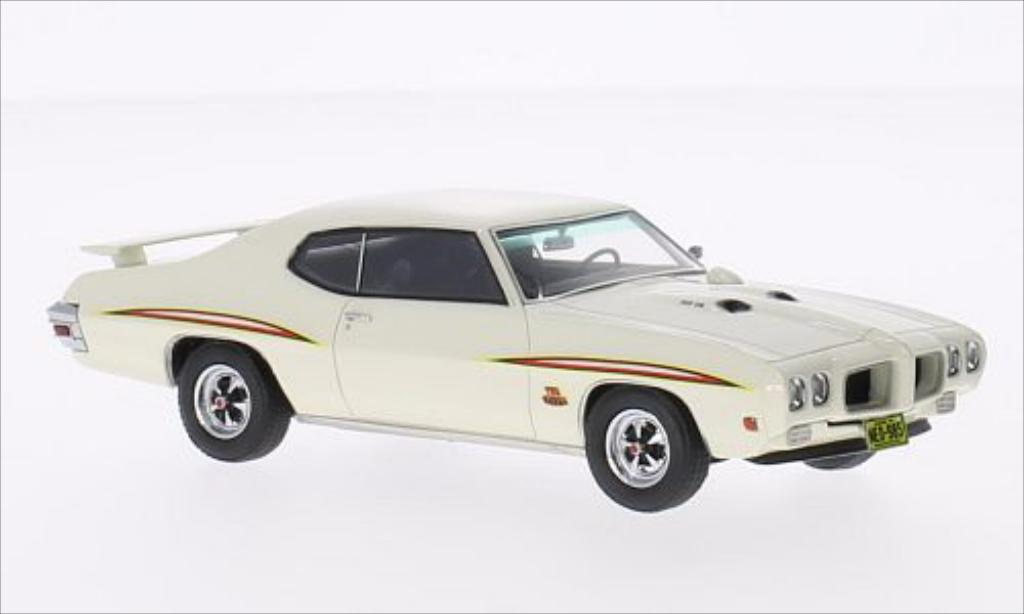 pontiac gto the judge weiss 1970 neo modellauto 1 43. Black Bedroom Furniture Sets. Home Design Ideas