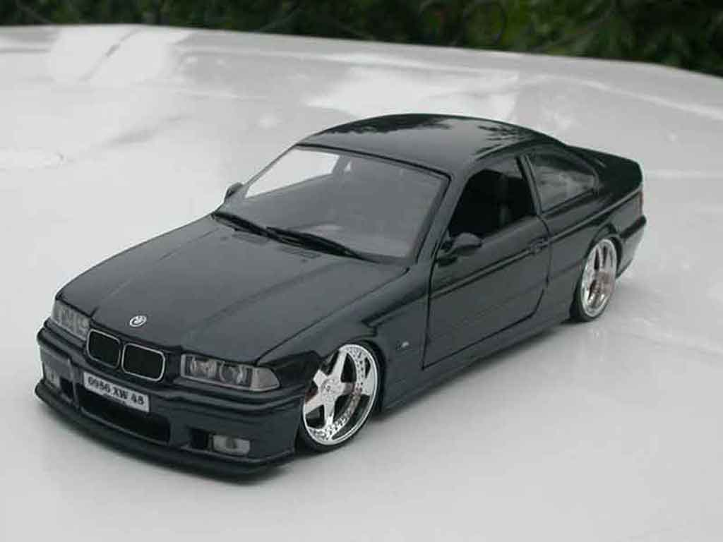 Bmw M3 E36 1/18 Ut Models coupe black jantes andrew racing tuning diecast